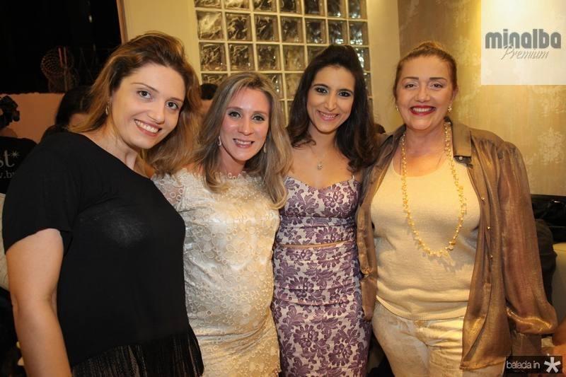 Priscila Ribeiro, Olga Saraiva, Camila Rodrigues e Flora Ribeiro