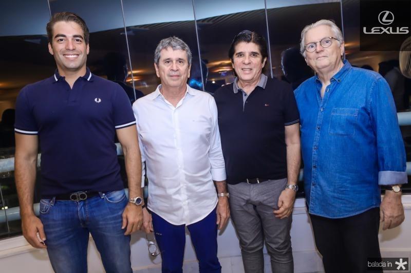 Leonardo Vidal, Marcio Tavora, Dito Machado e Carlos Castelo Branco