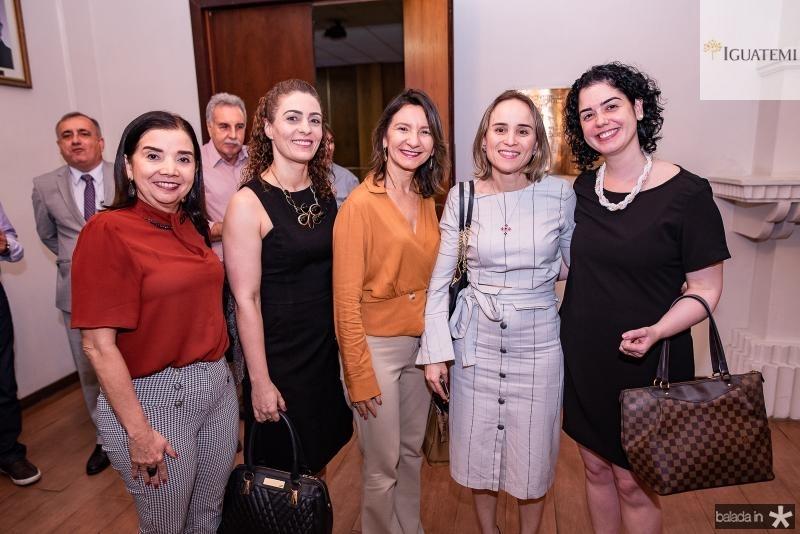 Liana Machado, Denise Moura, Cleide Alencar, Fernanda Pacobahybaermanda Belchior