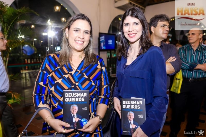 Ana Leal e Raquel Pedrosa