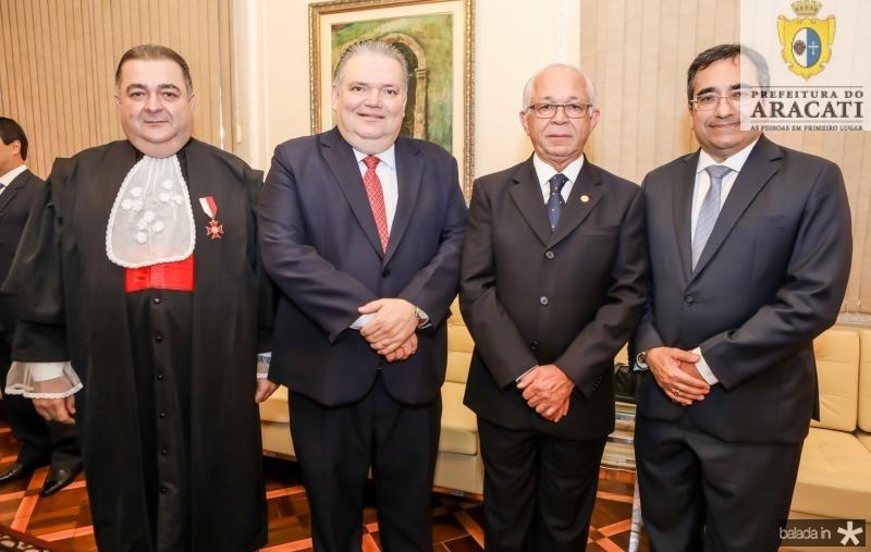 Francisco Vasconcelos, Jorge Medeiros, Brito Pereira e Jardson Cruz