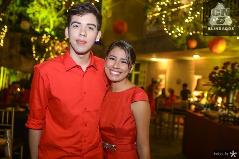 Rubens Costa e Gabriela Ferreira