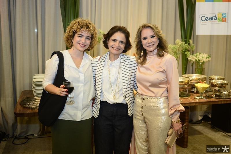 Julia Curan, Nora Sa?o Bernardo, Sofia Linhares