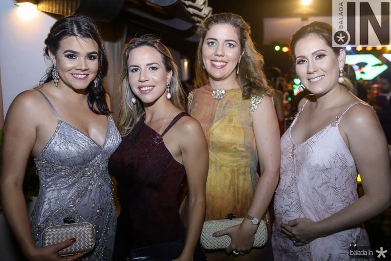 Priscila Leal, Isabela, Ticiana e Paula Rolim