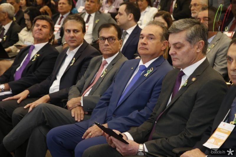 Luiz Fux, Camilo Santa, Beto Studart, Washington Araujo e Cid Marconi