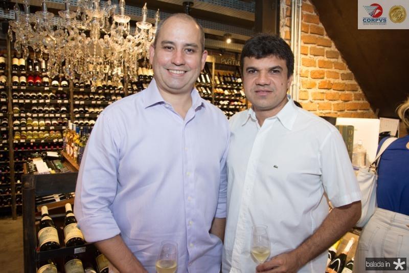 Andre Linheiro e Marcelo Braga