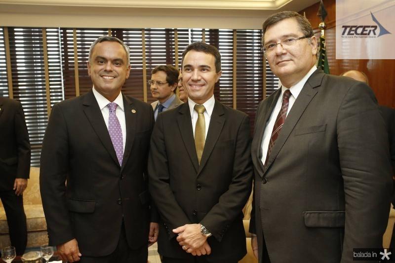 Marcelo Mota, Placido Rios e Valter Lima