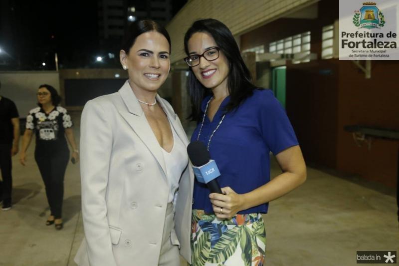 Luciana Souza e Pamela Lemos