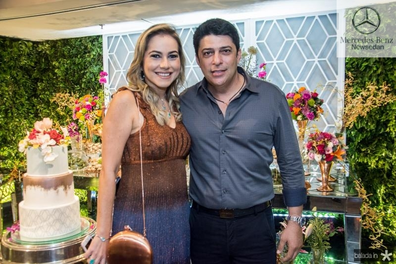 Talyzie Mihaliuc e Marcelo Sombra