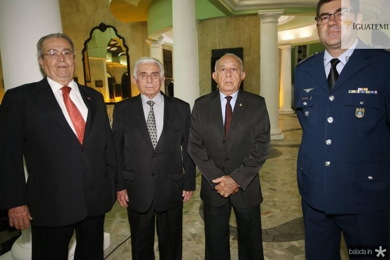 Meton Cesar de Vasconcelos, Atila Queiroz, Lira Bastos e Coronel Alex Pereira