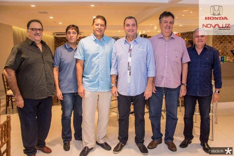 Jorge Romcy, Vagner Teixeira, Marcus Meideros, Kalil Otoch, Joao de Sa e Ricardo Mendes