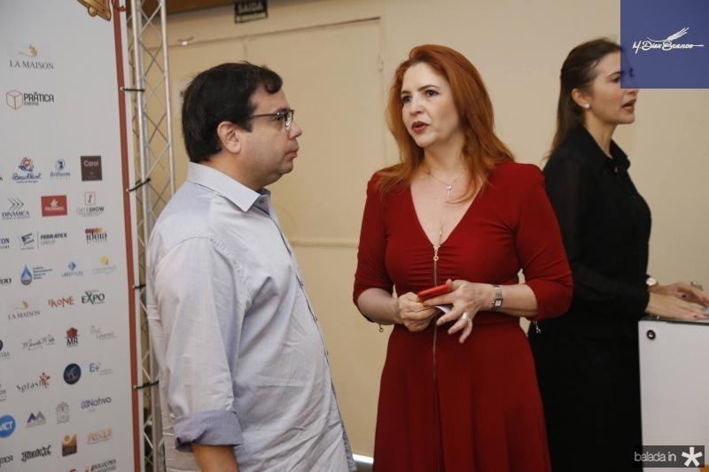 Rafael Bezerra e Enid Camara
