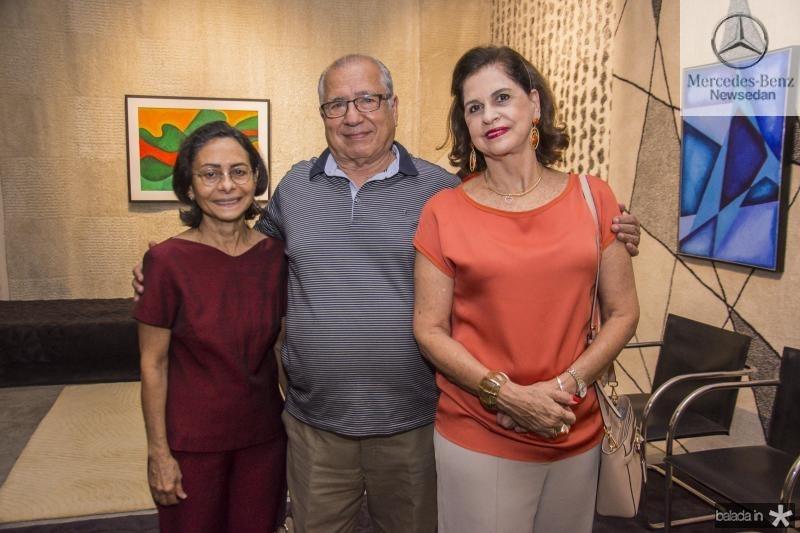 Jordete Franco, Cesar Rosas e Beta Fiuza