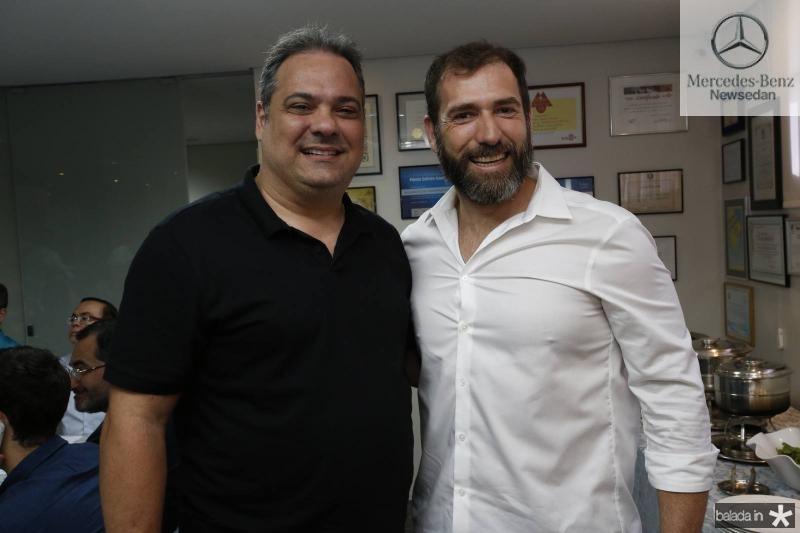 Raul Fontenele e Alberto Figueiredo