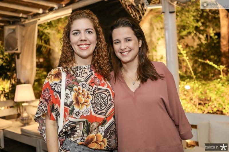 Ticiana Queiroz e Viviane Rocha