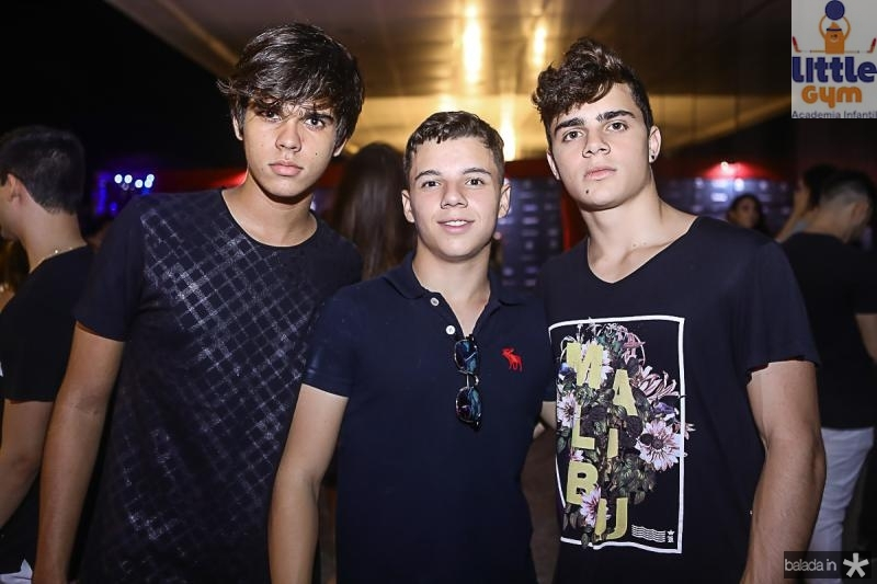 David Oliveira, Rafael Vasconcelos e Leo Gress