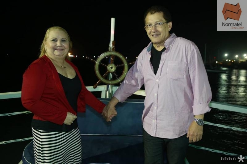 Herbenia e Elpidio Nogueira