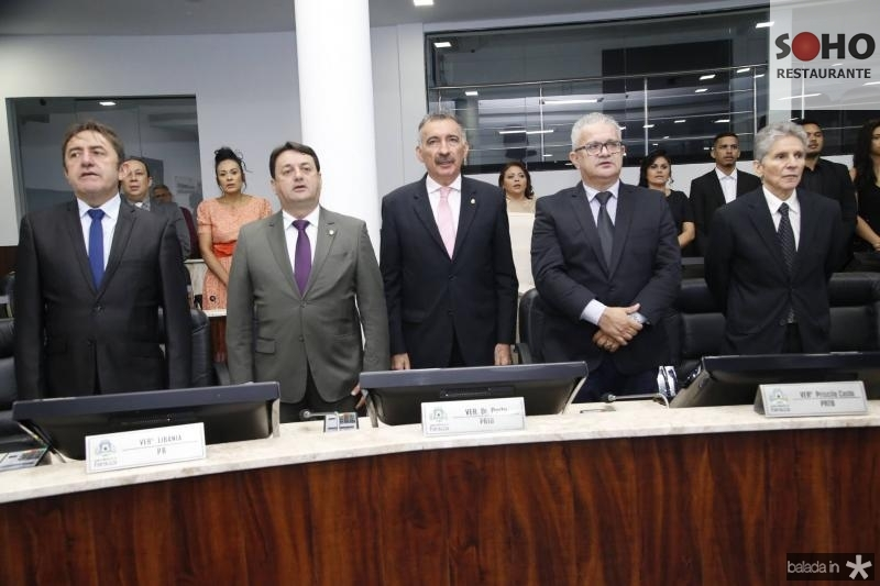 Adail Junior, Benigno Junior, Artur Bruno, Luiz Sergio e Padua Lopes