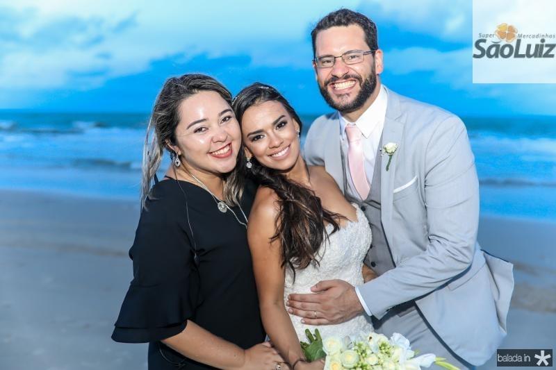 Luciana Mesquita, Veruska e Tiago Lobo