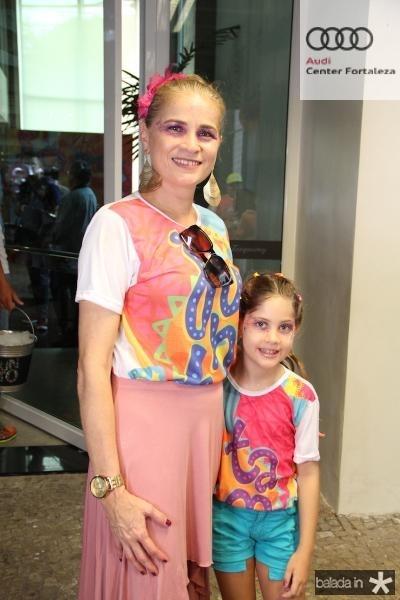 Veridiana e Alice Reinaldo