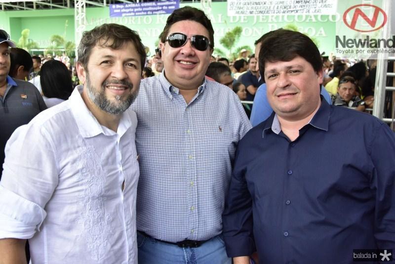 Elcio Batista, Marcos Dias Branco e George Lima