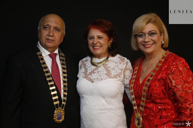 Epitacio Vasconcelos, Fatima Duarte e Priscila Cavalcante
