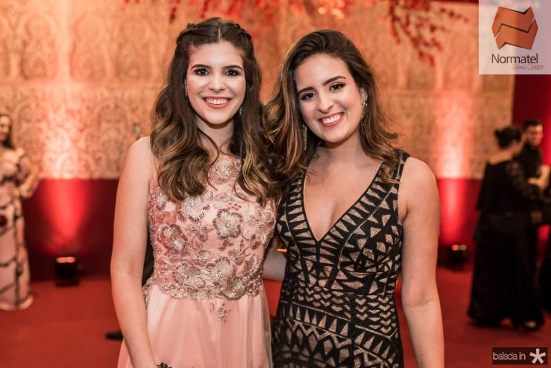 Marcella e Amanda Feitosa