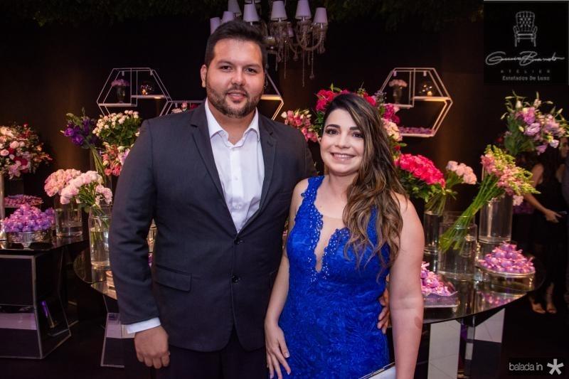 Vitor Eldo e Cindiele Ferreira