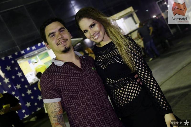 Fabio Bezerra e Rafaela Quindere