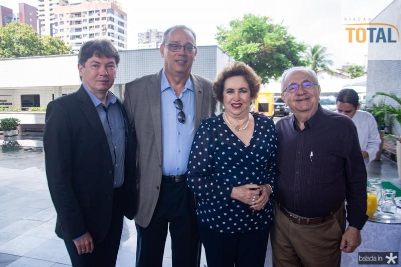 Edgar Gadelha, Jose Dias, Leda Maria e Eduardo Bezerra
