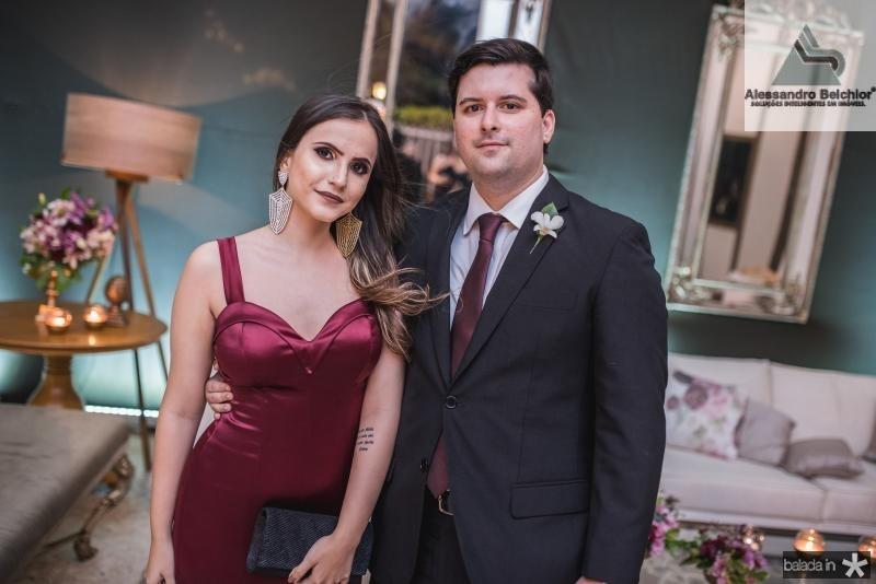 Dayana Farias e Arthur Bezerra