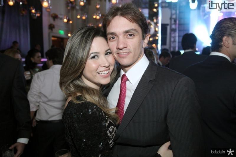 Carol Yamasaki e Marcelo Vitor