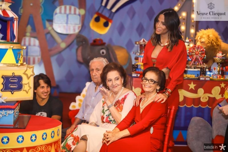 Humberto e Norna Bezerra, Fernanda Sena e Noemia Santos