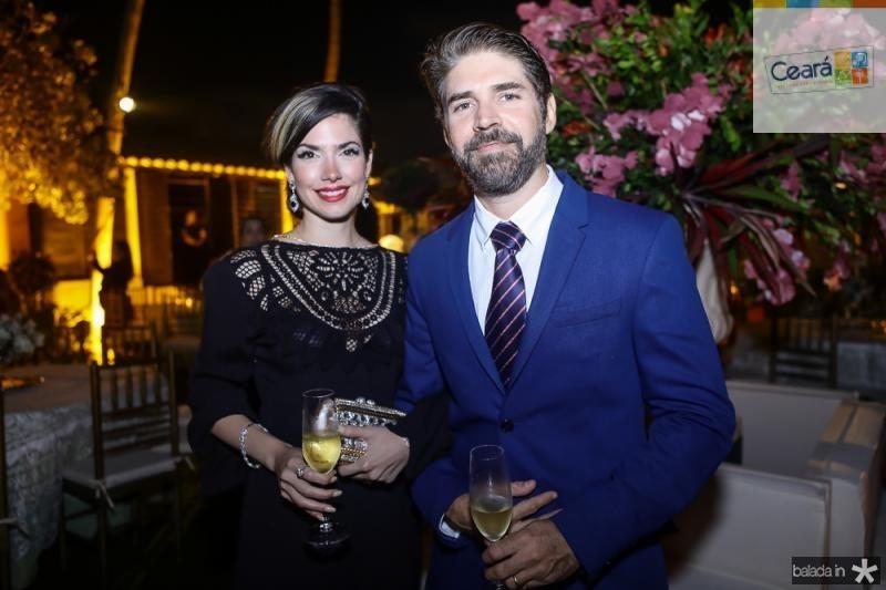 Ana Claudia Macedo e Leonardo Brasil