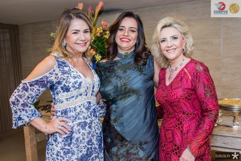 Ana Luiza Barreira, Lia Freire e Graca da Escossia