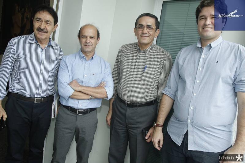 Raimundo Gomes de Matos, Marcos de Holanda, Denisio Pinheiro e Fernando Torres