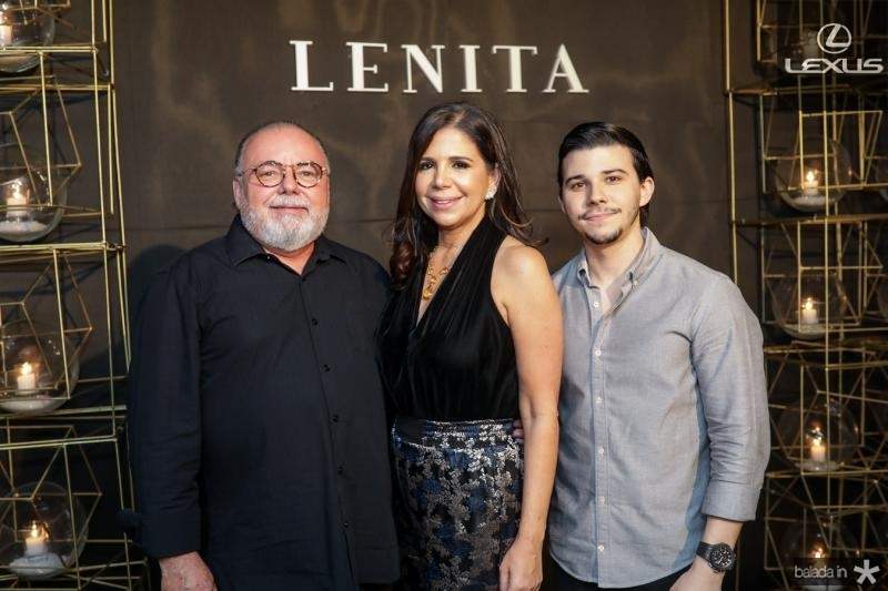 Pedro Carapeba, Maria Lucia Negrao e Pedro Paulo Negrao