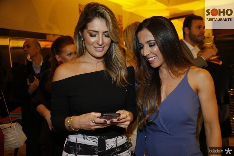 Melina Dias e Katia Lobo