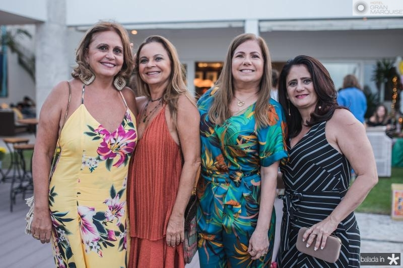 Zelma Gadelha, Vera Passos, Nilce Azevedo e Gilvana Benevides