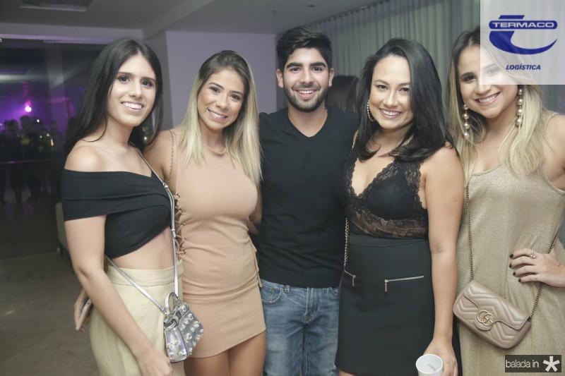 Natalia Nogueira, Beatriz Lima, Deib Neto, Daniela de Paula e Roberta Fernandes
