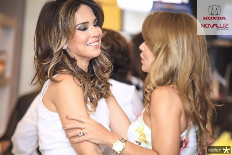 Eveline Fujita e Maira Silva