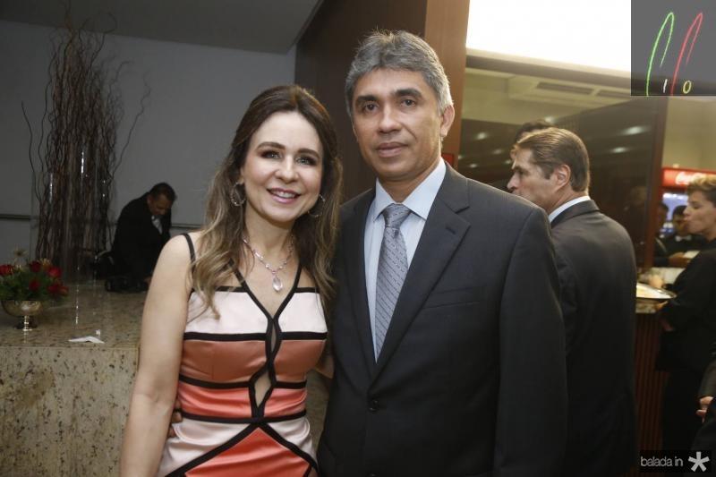 Alda Linhares e Marcelio Lima