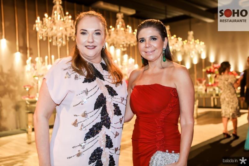 Luisiane Cavalcante e Maria Lucia Negrao