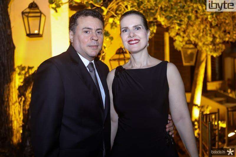 Fradique e Daniela Acioly