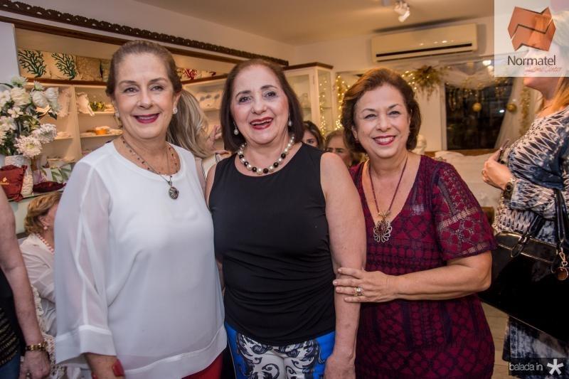 Dita Leal e Edna Marques e Julia Philomeno