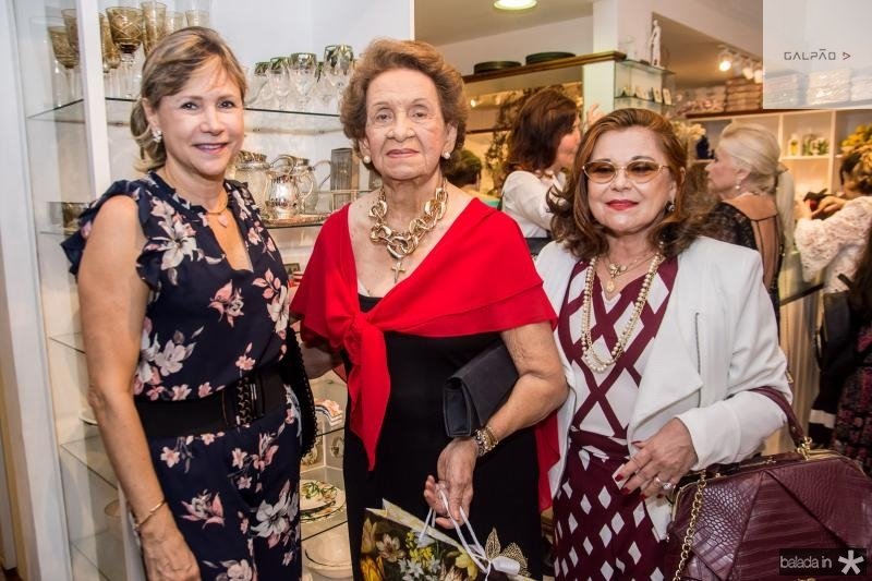 Daniela Gentil, Silvia Macedo e Letinha Sampaio