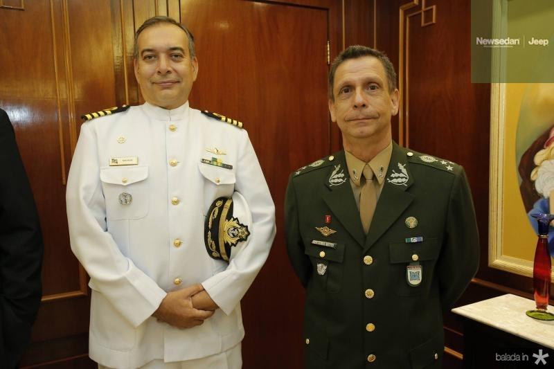 Comandante Madson Cardoso e General Cunha Matos