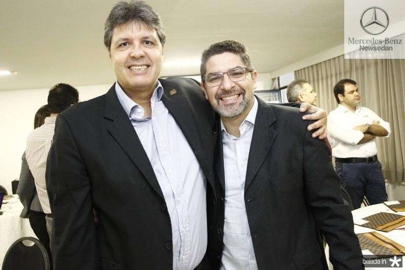 Marcos Oliveira e Hermes Monteiro
