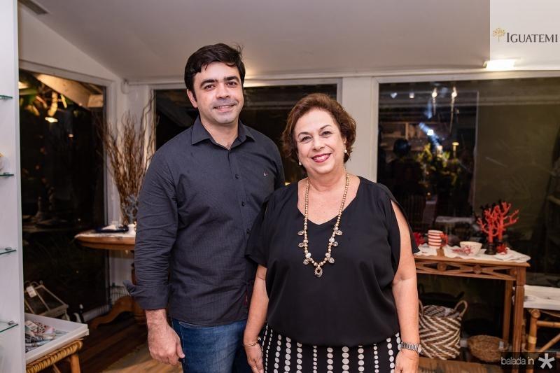 Eduardo Cals e Julia Philomeno