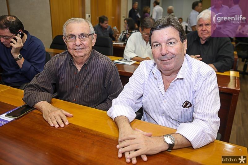 Alvaro Correia e Heitor Studart